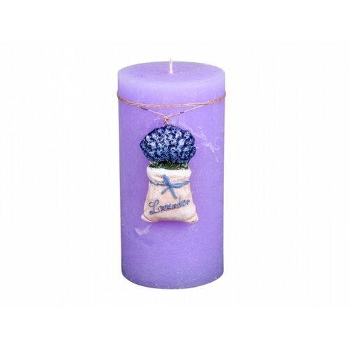 Dekorativní svíčka Lavender Bag, válec