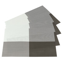 Prestieranie DeLuxe svetlohnedá, 30 x 45 cm, sada 4 ks