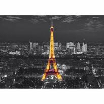 Fototapeta XXL Wieża Eiffela w nocy 360 x 270 cm, 4 części