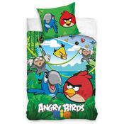 Bavlněné povlečení Angry Birds Jungle, 140 x 200 cm, 70 x 80 cm