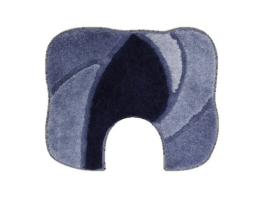WC předložka Grund REGENT, tmavě modrá, 60 x 50 cm