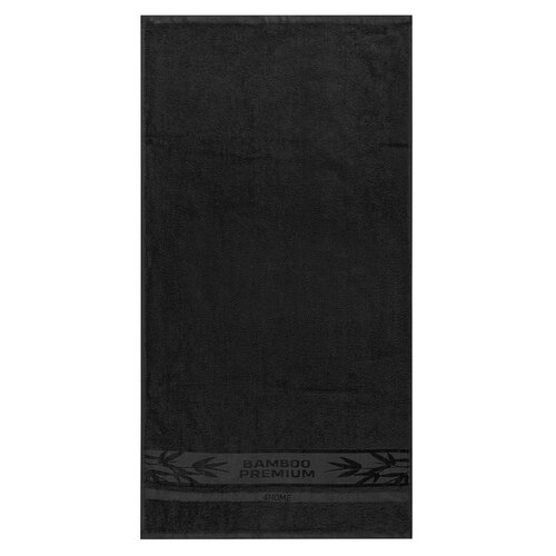 4Home Osuška Bamboo Premium černá, 70 x 140 cm