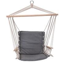 Comfortable függeszthető fotel, szürke, 100x 53 cm