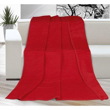 Pătură Kira, roşu, 150 x 200 cm