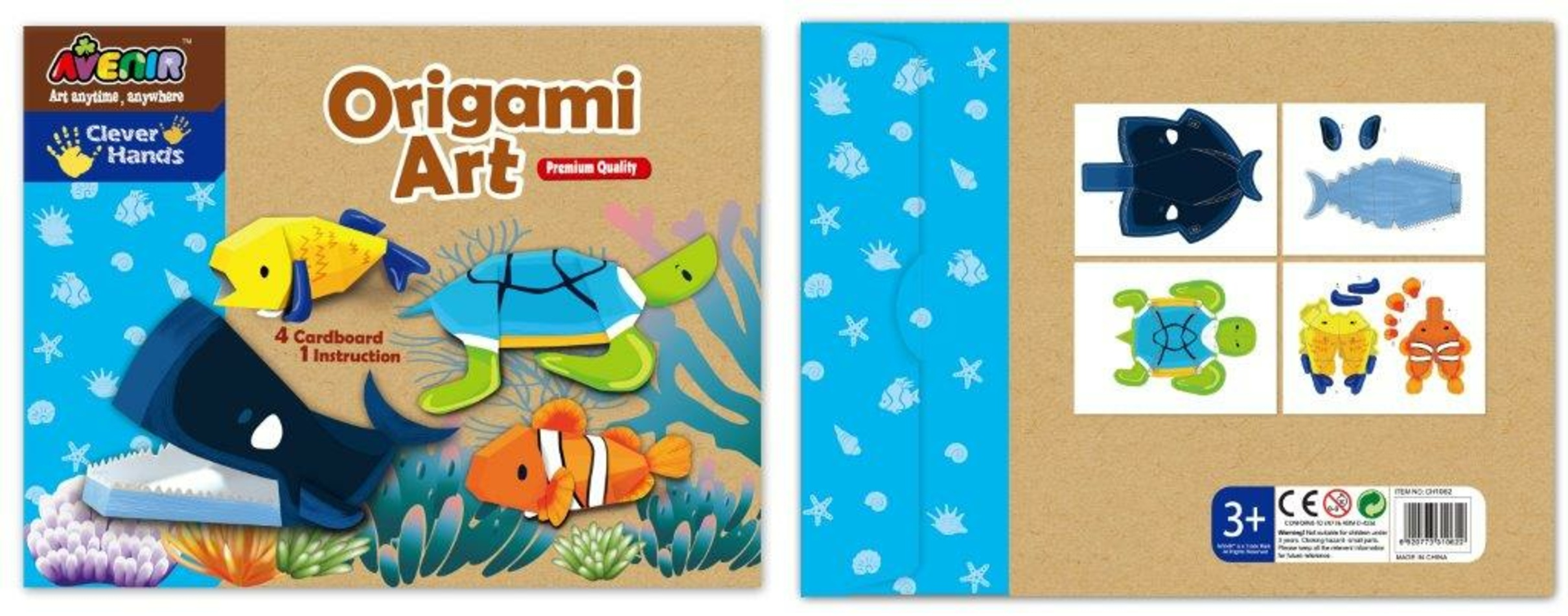 Bino Moje první origami mořský svět