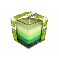 Sviečka v skle Dúha Zelený čaj, 170 g