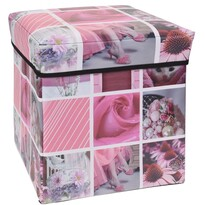 Cutie de păstrare Siena, roz, 30 x 30 x 30 cm