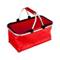 Nákupný košík Kemping červená