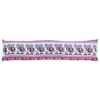 Vánoční ozdobný těsnící polštář do oken Medvědi, 90 x 22 cm