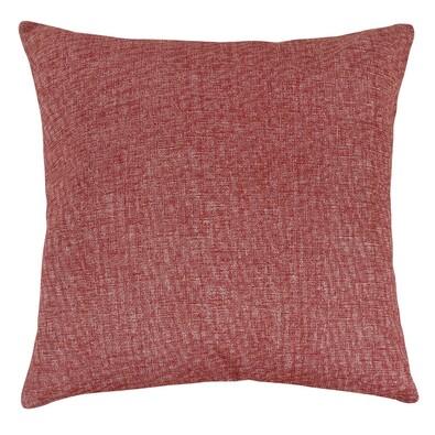 Ivo piros nyers párna, 45 x 45 cm