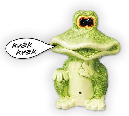 Žába s pohybovým senzorem