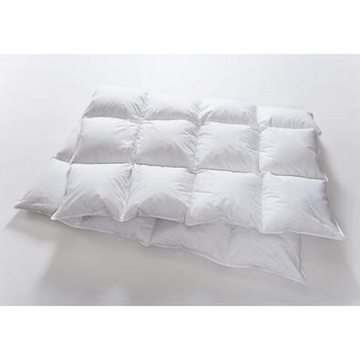 Péřová přikrývka Natural Comfort Basic teplá, 200 x 240 cm