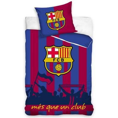 Bavlněné povlečení FC Barcelona Més que un club, 160 x 200 cm, 70 x 80 cm