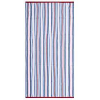 Ręcznik plażowy Ropes niebieski, 90 x 170 cm