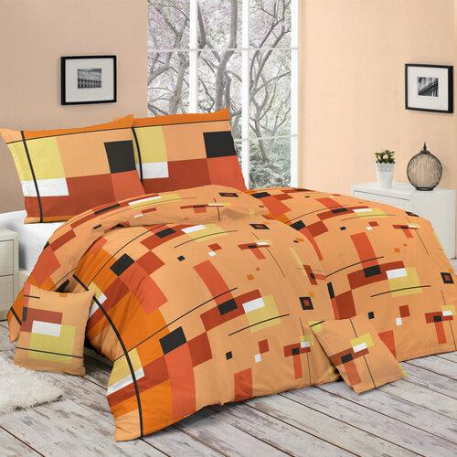 Bohemia Style Bavlněné povlečení Scarlet oranžová, 140 x 200 cm, 70 x 90 cm
