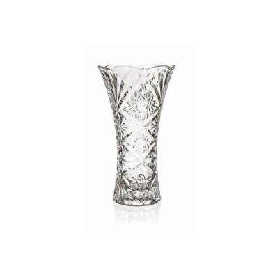 Vază sticlă Banquet Aisha, transparentă, 23 cm