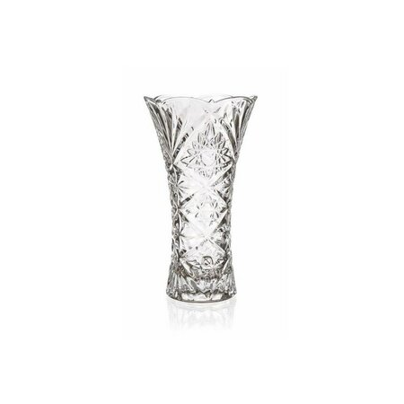 Banquet Skleněná váza Aisha čirá, 23 cm