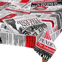 Ema Újság abrosz piros