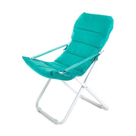 Happy Green Skládací křesílko Varadero, modrá