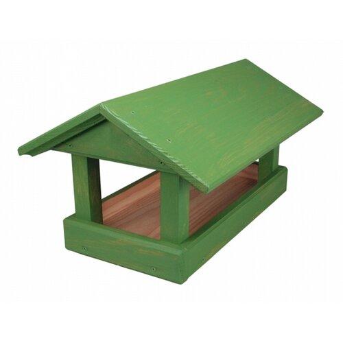 Kŕmidlo pre vtáčiky Home, zelená