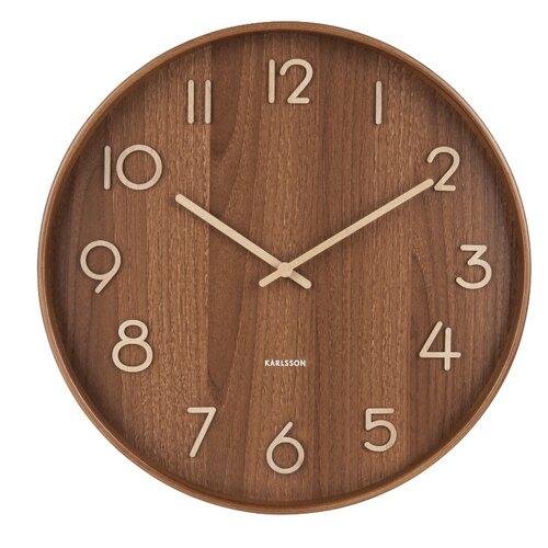 Karlsson 5809DW Designové nástěnné hodiny pr. 40 cm