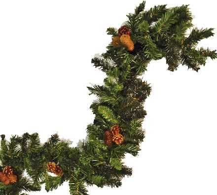 vánoční smrková girlanda