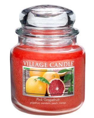 Village Candle Vonná svíčka Růžový grapefruit- Pink Grapefruit, 397 g
