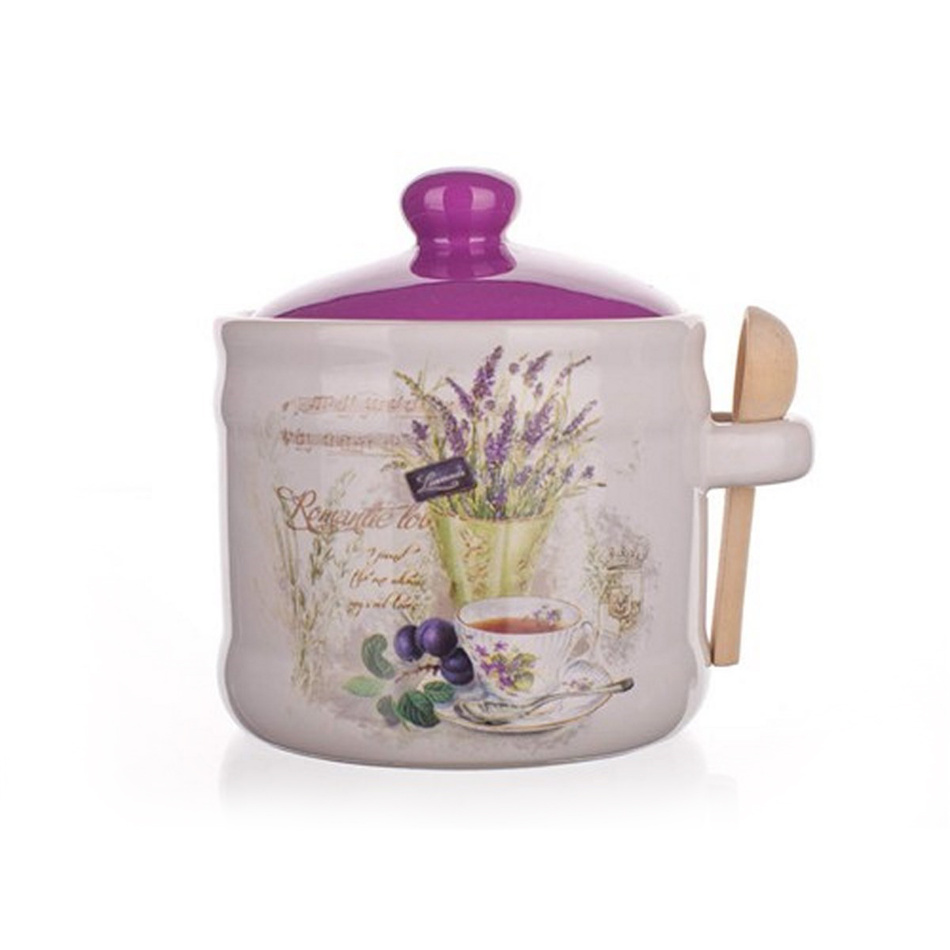 Doză cu linguriţă Banquet Lavender imagine 2021 e4home.ro