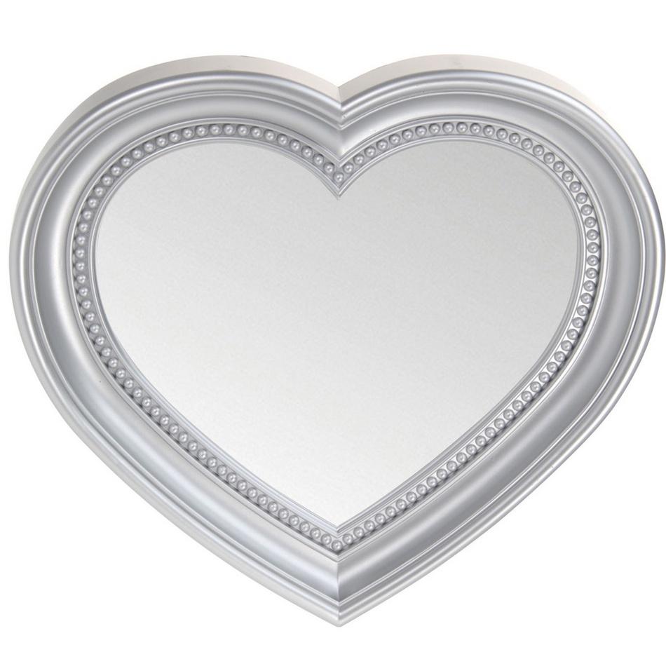 Koopman Zrcadlo L´amour, stříbrná