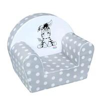 New Baby Zebra gyermek szék, szürke, 42 x 53 cm