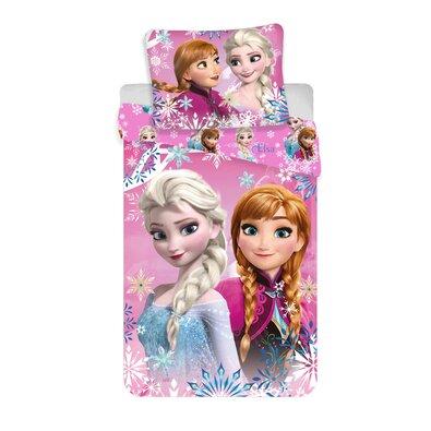 Dětské bavlněné povlečení Frozen sister 02, 140 x 200 cm, 50 x 70 cm