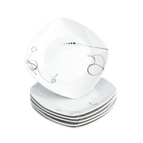 Domestic Sada dezertních talířů Chanson 19 cm, 6 ks