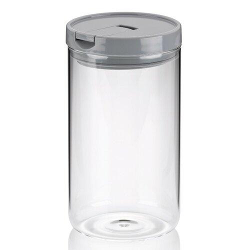 Kela Dóza ARIK sklo 1,2 l, šedá