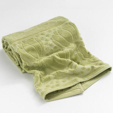 Osuška Iola zelená, 70 x 140 cm