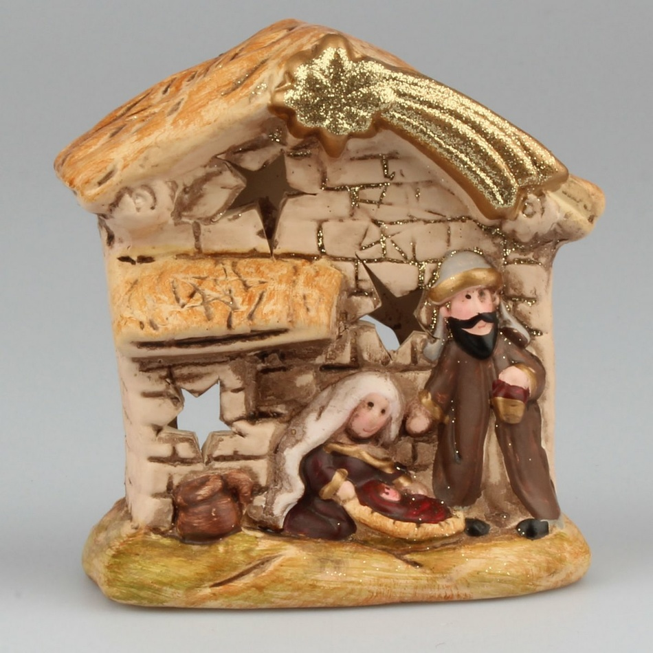 Dakls Keramický svícen Betlém
