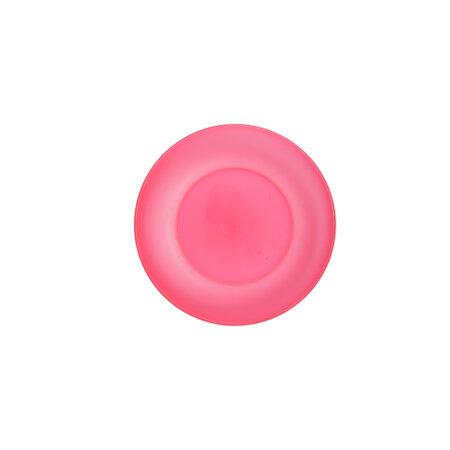 Altom Sada plastových talířů Weekend 17 cm, růžová