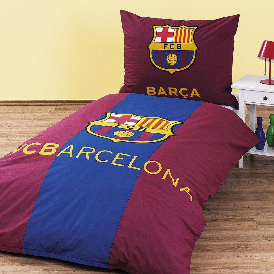0d2f461f531d7 Bavlnené obliečky FC Barcelona, 140 x 200 cm, 70 x 90 cm