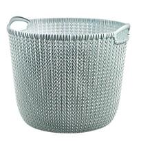 Curver Knit kerek kosár 30 l, világos kék