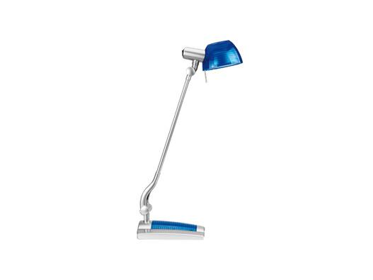 Stolní lampa Ginevra uno, modrá