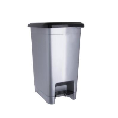 Coș de gunoi Orion Slim, cu pedală, 15 l