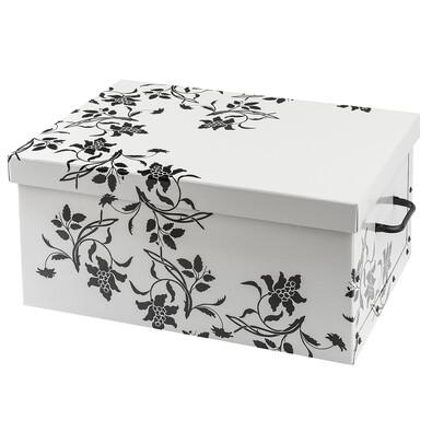 Pudełko Ornament 51 x 37 x 24 cm, biały