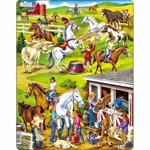 Larsen Puzzle Koně, 50 dílků
