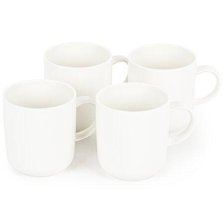 Mäser Vada porcelánbögre készlet, 400 ml, 4 db