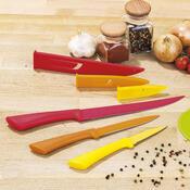 6 dílná sada nožů s nepřilnavým povrchem