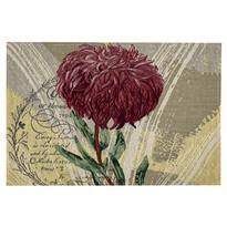 Napron Crizantemă mov, 32 x 48 cm