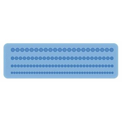 Tescoma DELÍCIA DECO silikonové formičky bordura modrá