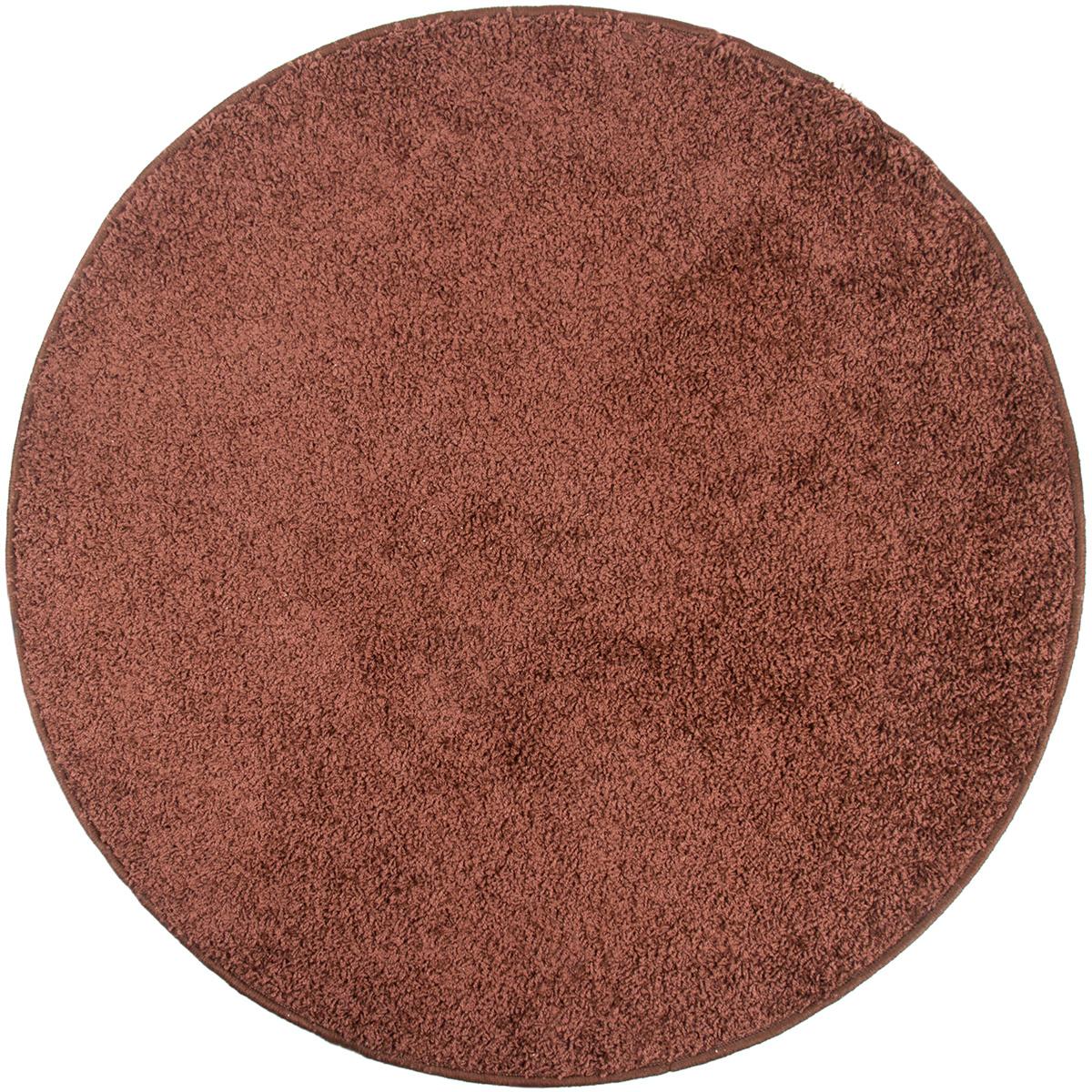 Vopi Kusový koberec Color shaggy hnědá, 120 cm
