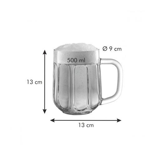 Tescoma Kufel na piwo myBEER Icon, 0,5 l
