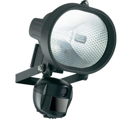 Kamera s reflektorem a detektorem pohybum Conrad, černá
