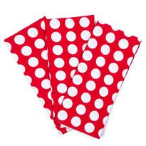 4Home Konyharuha Piros pötty, 45 x 70 cm, 3 db-os szett